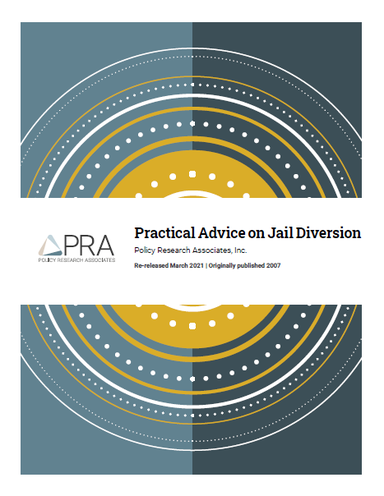 The cover of Practical Advice on Jail Diversion