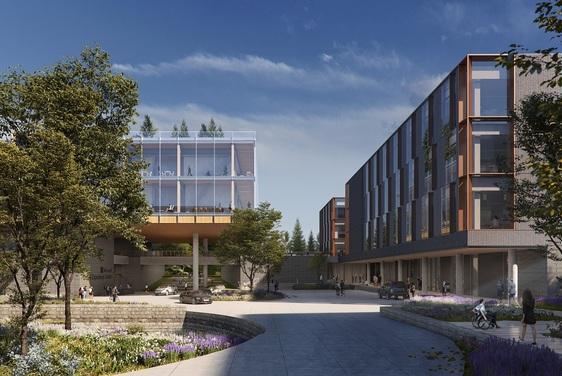 Microsoft campus renovations continue