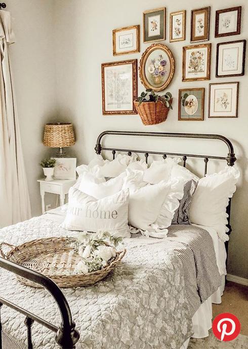 A cottage bedroom