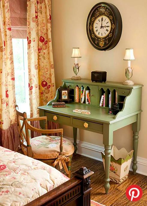 A quaint desk