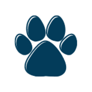 dog paw print graphic