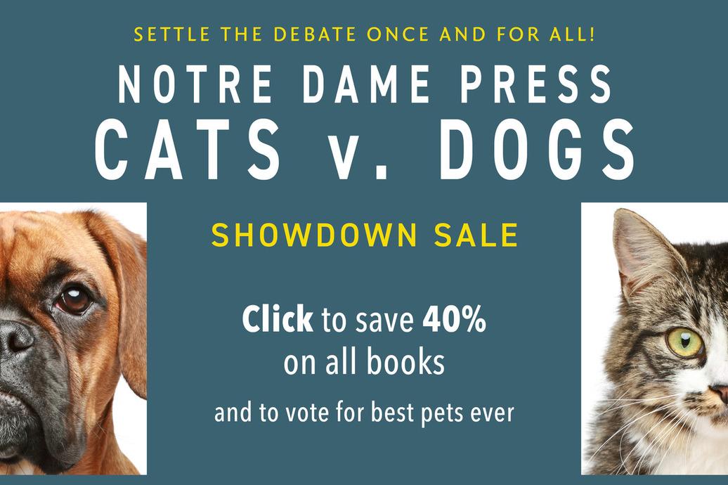 Click for Notre Dame Press sale page. Books are 40 percent off.