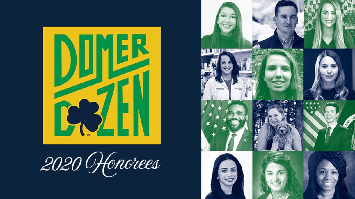 Domer Dozen 2020 honorees