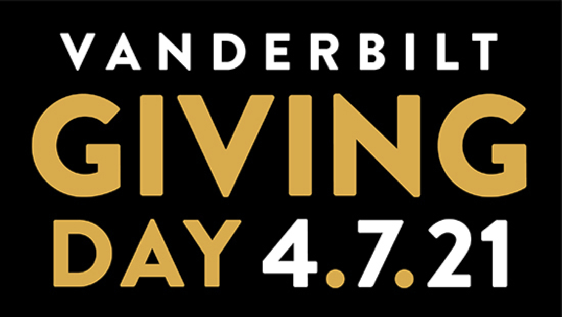 Save the date for Vanderbilt Giving Day on April 7!