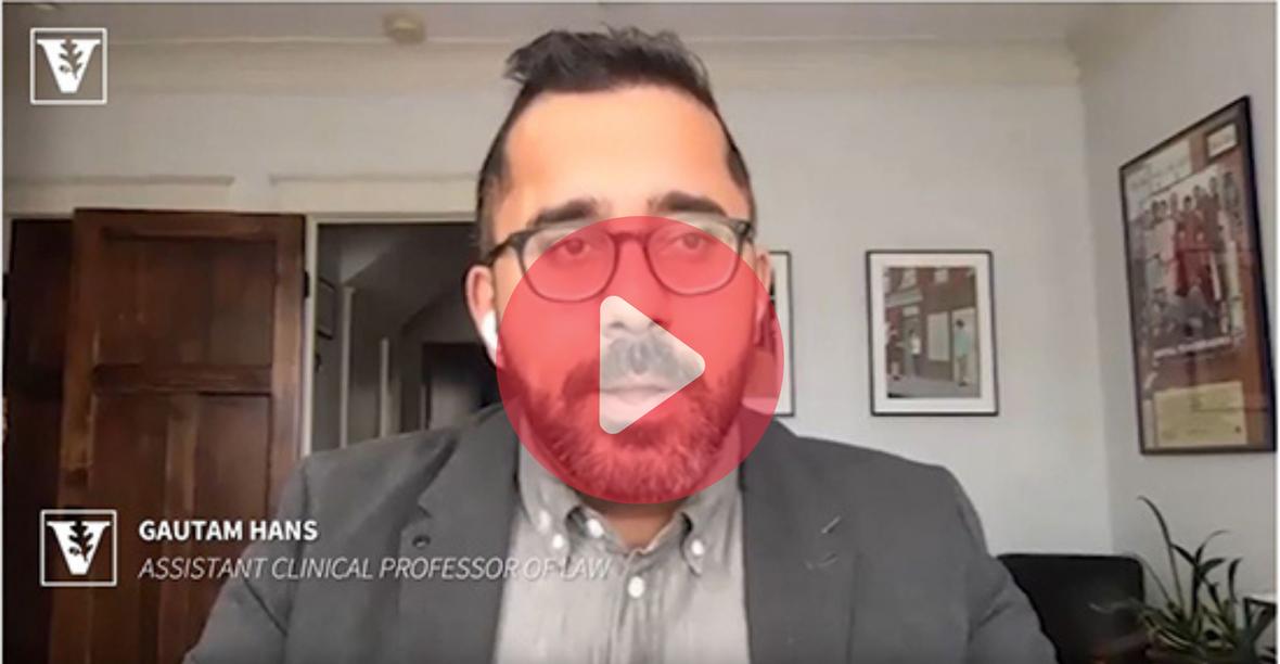 Ask an Expert: How do social media companies moderate user content? with Professor Gautam Hans