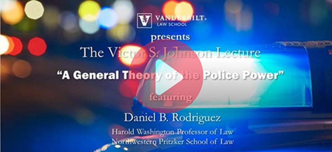2021 Victor S. Johnson Lecture: