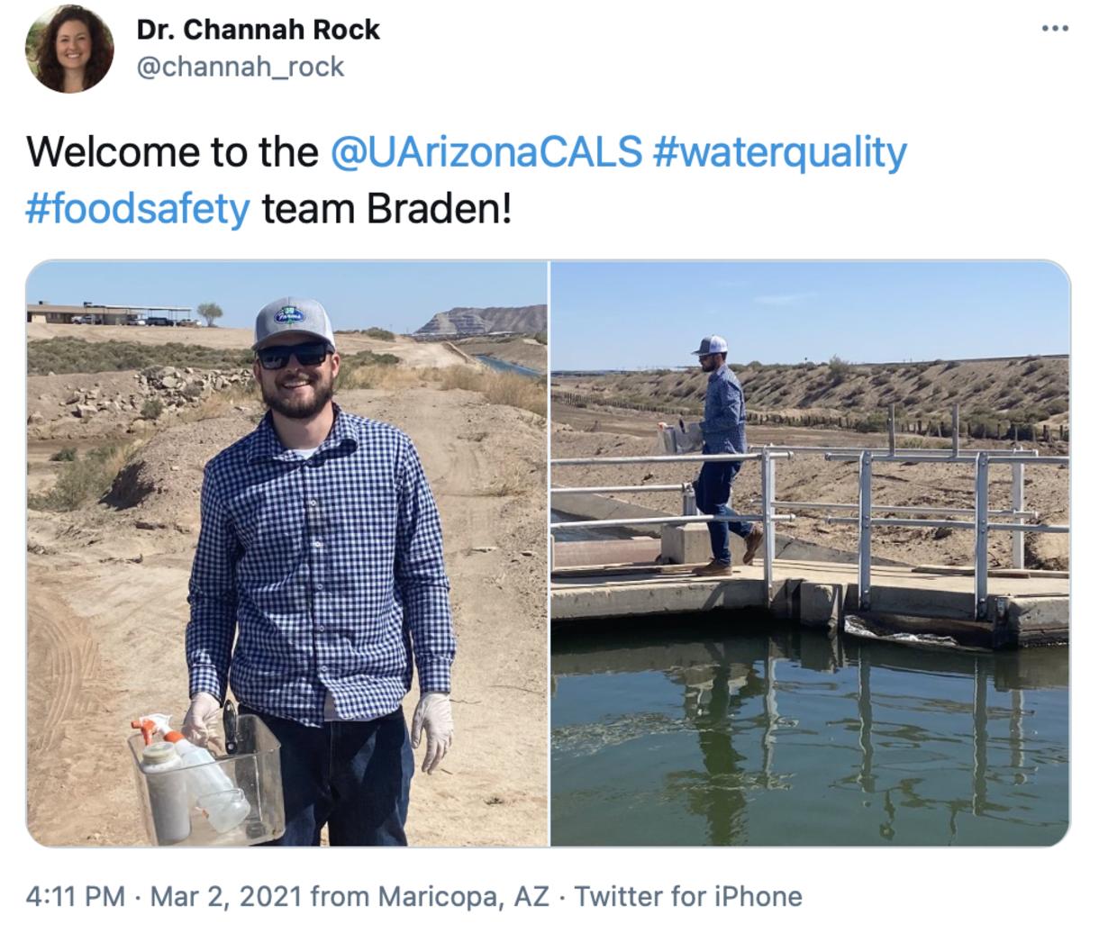 Rock welcomes Braden