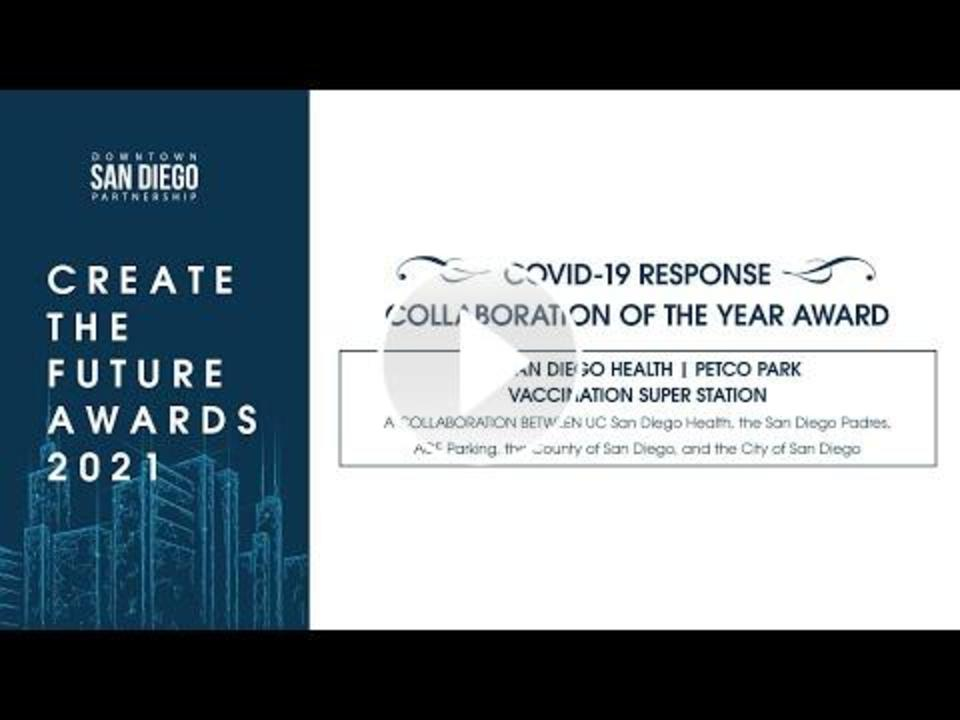 Video presentation of COVID-19 Response Collaboration of the Year Award