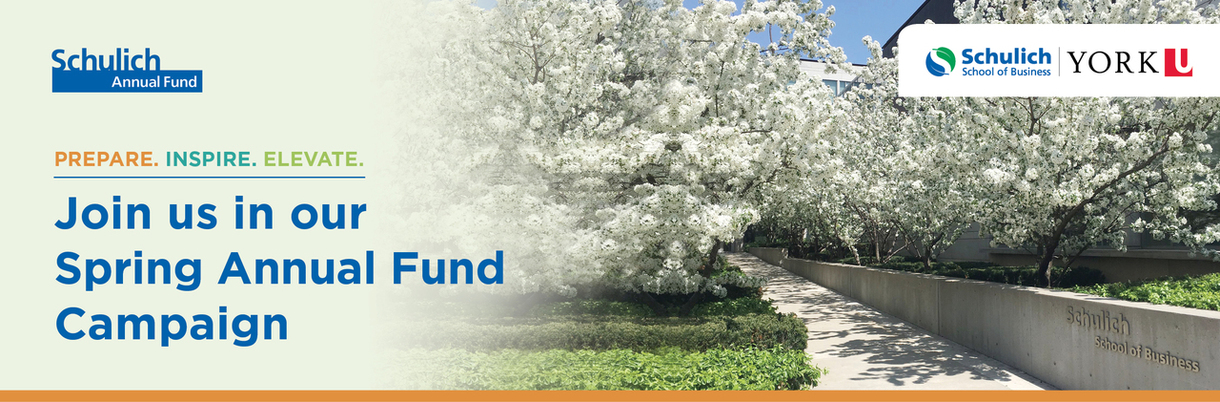 Join us in our Spring Annual Fund Campaign