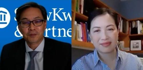 Brian Lau and Pauline Shum Nolan