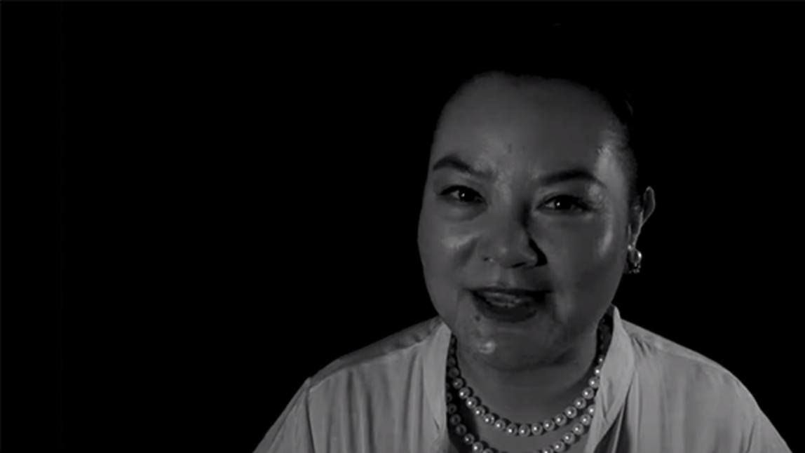 Video still from short film Catching Love