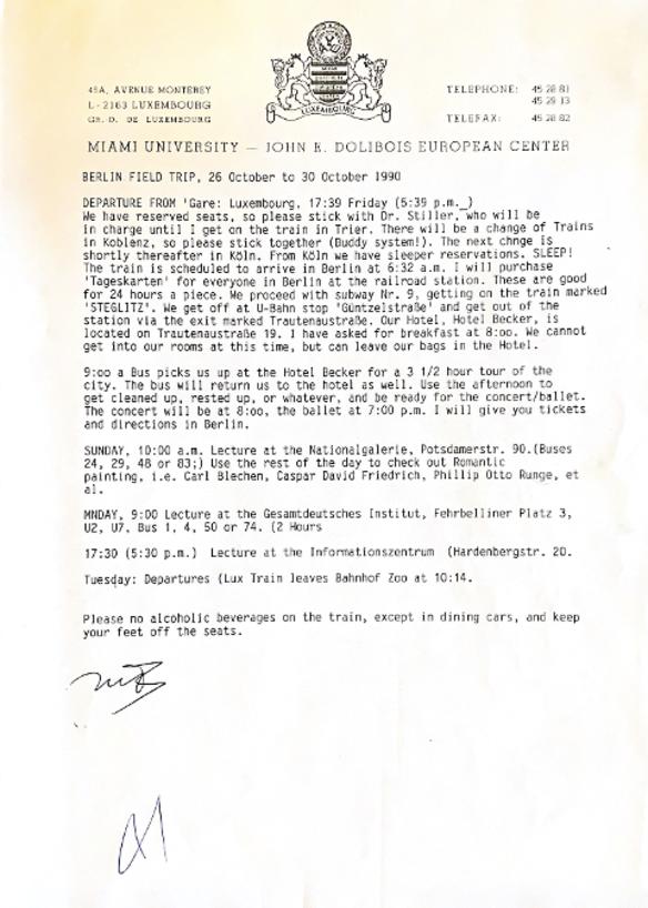 An archival MUDEC document