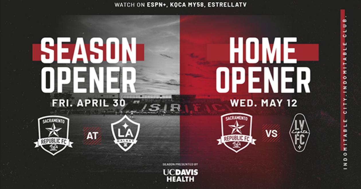 Sacramento Republic FC Season Opener and Home Opener Flyer