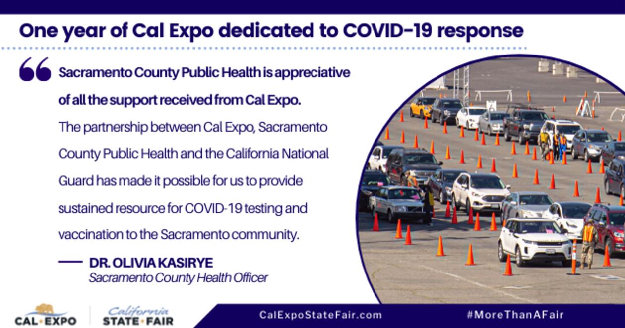 COVID-19 Testing at Cal Expo