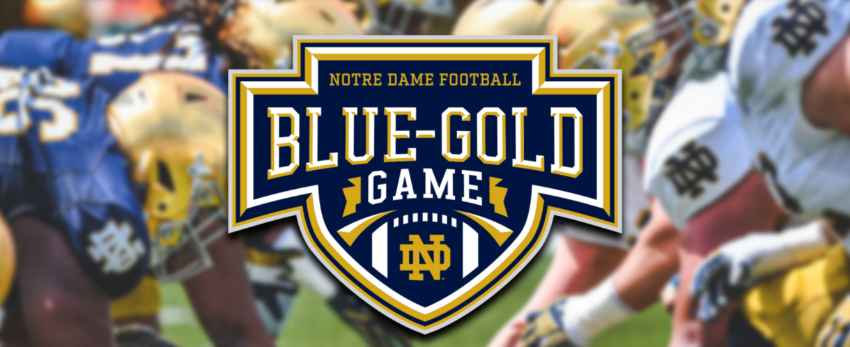 Notre Dame Football Blue-Gold Game