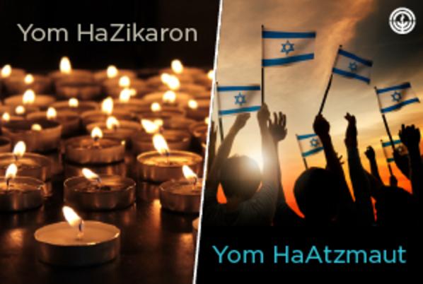 Yom HaZikaron and Yom HaAtzmaut