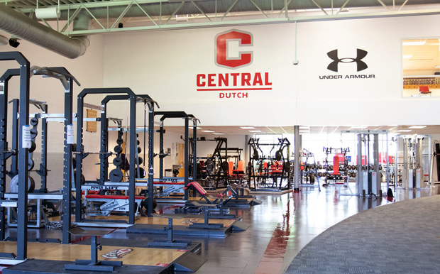 Photo of Central College fitness center