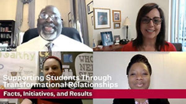 thumbnail image showing video stills from Tom Segar, Ann Sesti, Malaika Turner, and Mary Kate Johnston