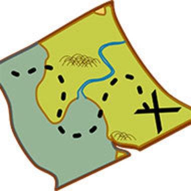 treasure map clip art