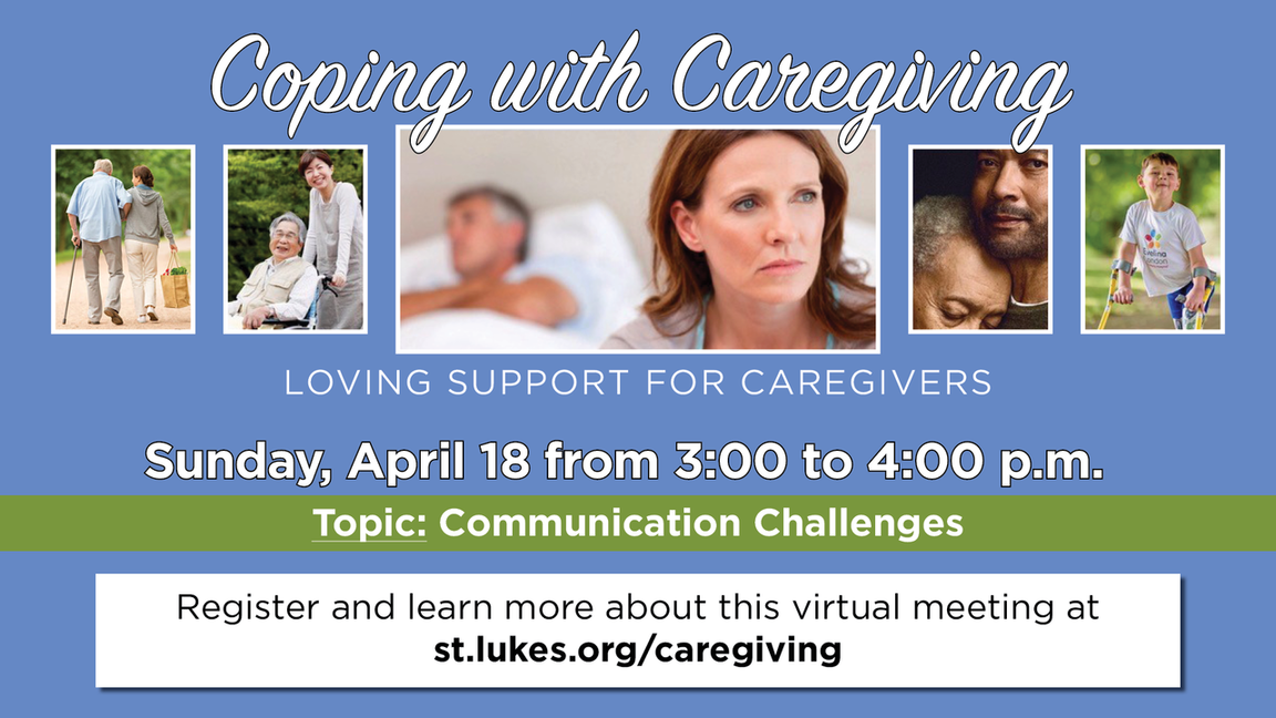 Coping with caregiving webpage link
