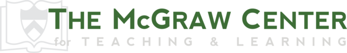 The McGraw Center for Teaching & Learning at Princeton Logo