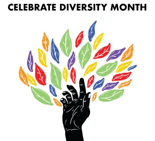 Celebrate Diversity graphic