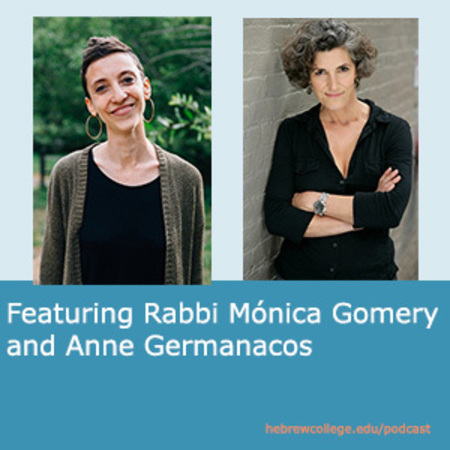 Rabbi MOnica Gomery and Anne Germanacos