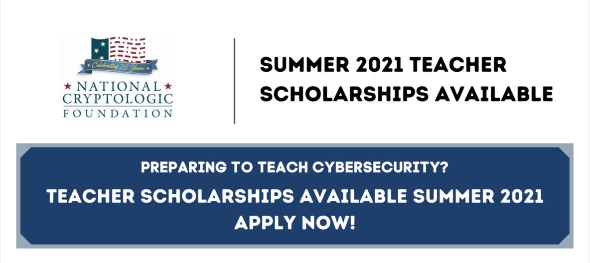 Scholarships 2021 flyer