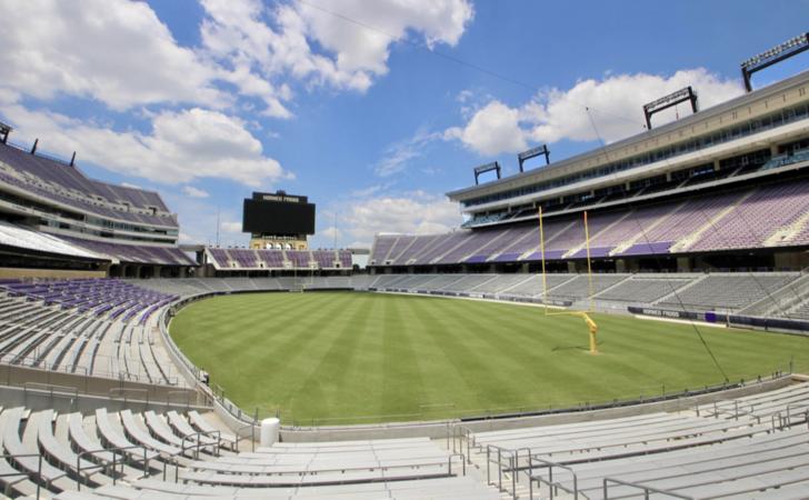 photo of Amon G. Carter Stadium without fans