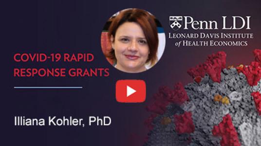 Iliana Kohler COVID-19 Rapid Response Grant Video