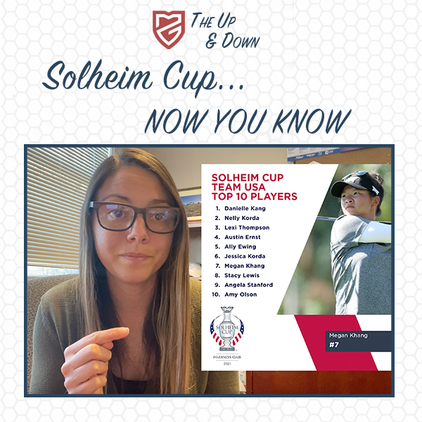 Solheim Cup...Now You Know