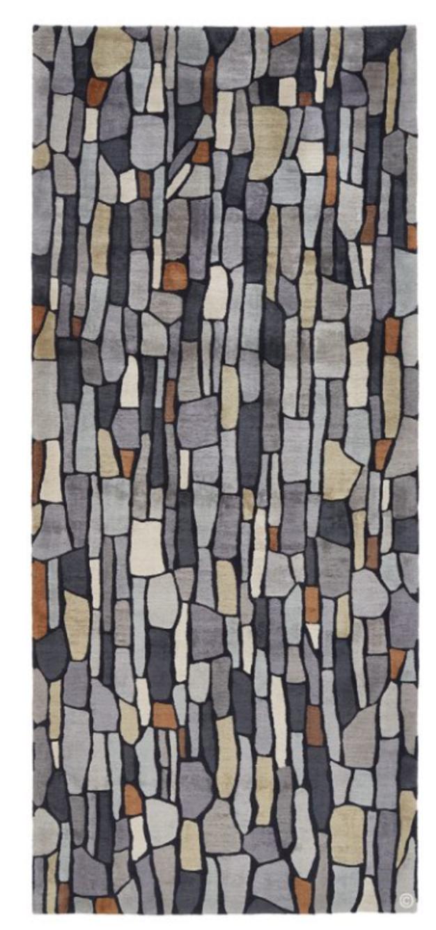 Deidre Dyson Dry Stone wool rug