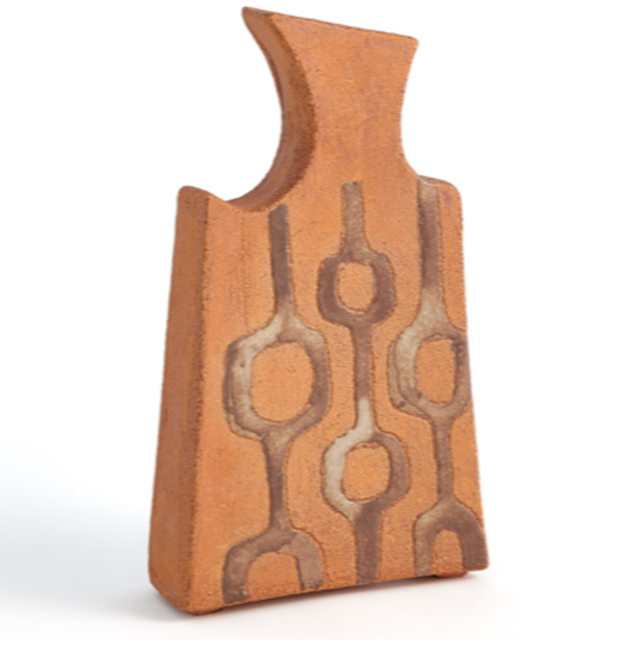 Global Views Mod Link Vases-Terracotta