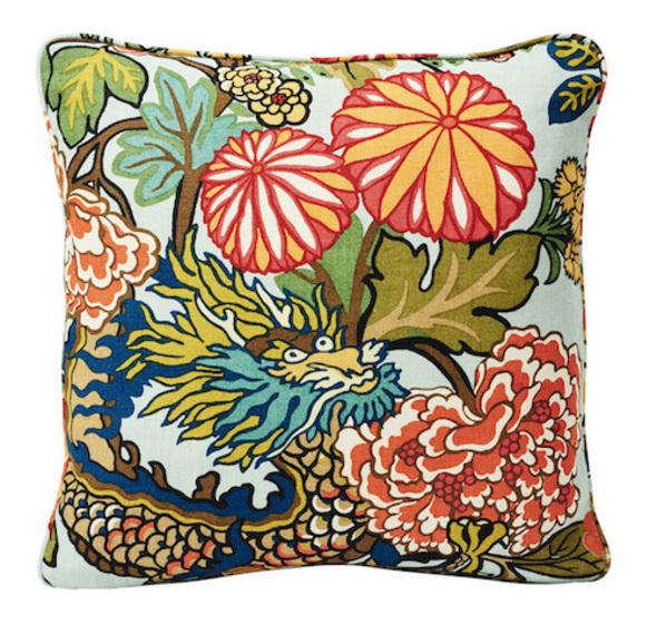 Schumacher-Chiang-Mai-Dragon-18-Pillow