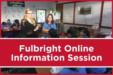 Fulbright Online Information Session