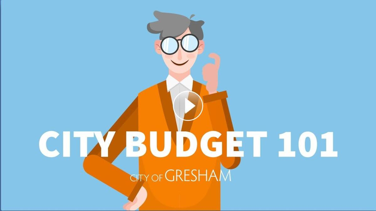 A video about the process and structure of the City of Gresham budget.