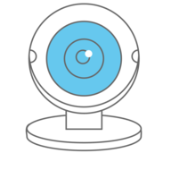 External computer webcam