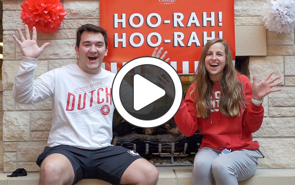 Video highlights from Central College HooRah Day 2021
