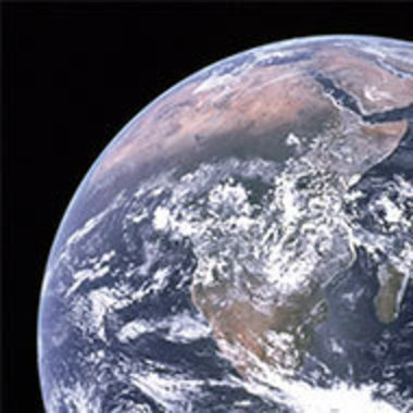 detail of planet Earth as seen from space