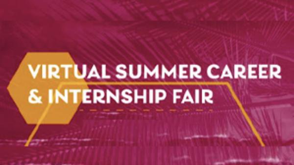 Virtual Summer Career and Internship Fair