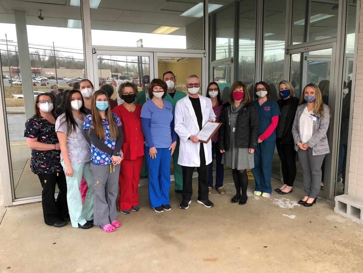 Dr. Jon's Urgent Care Staff