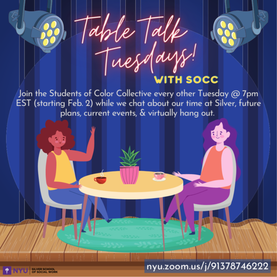 Table Talk Tuesdays with SOCC
