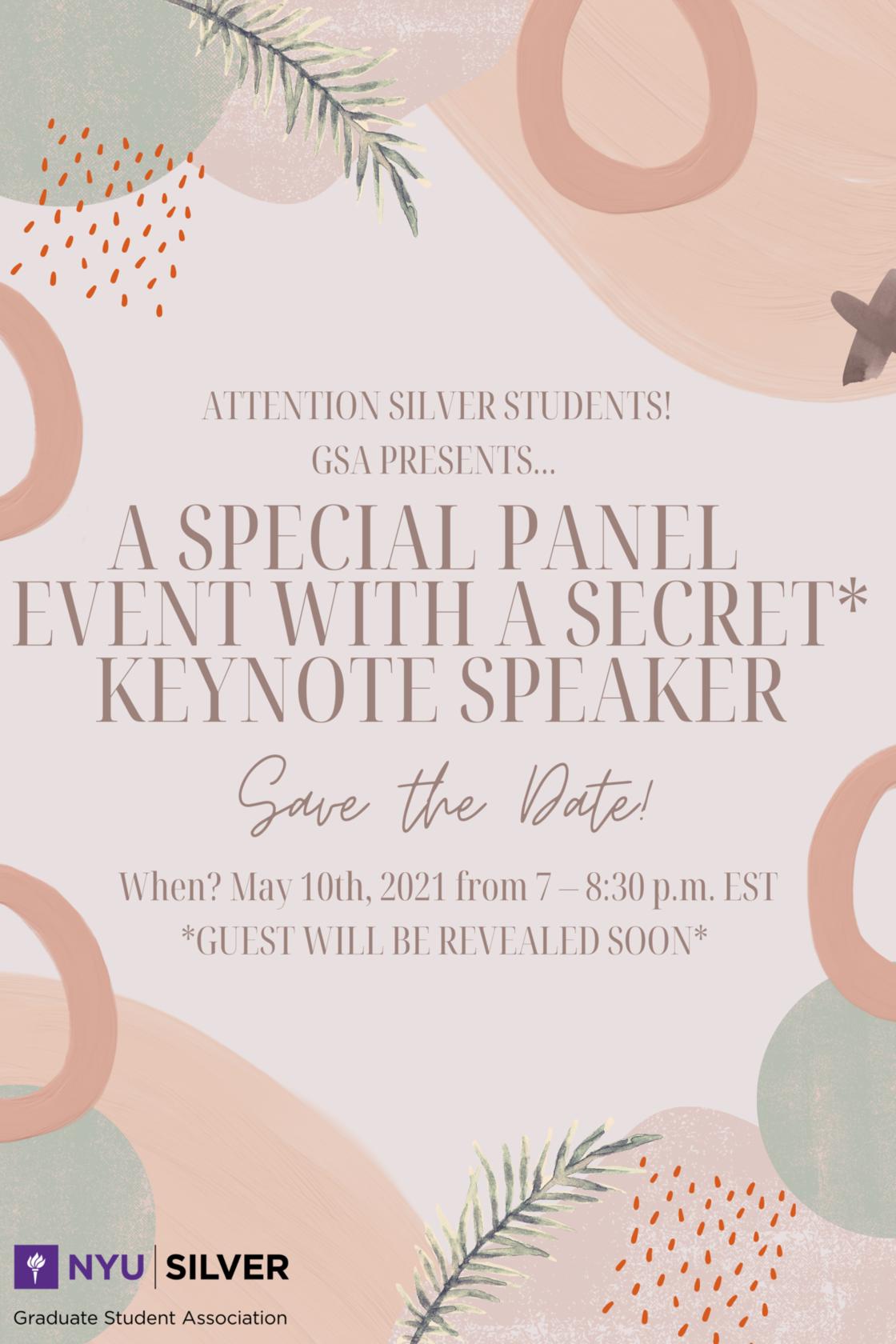 GSA Special Panel Event
