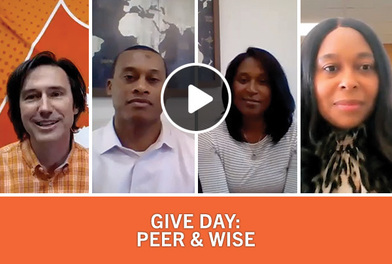 PEER & WISE - Connecting Students with Clemson - an Alumni Story