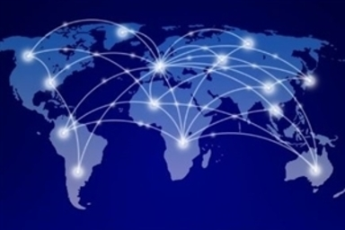 Image of world map