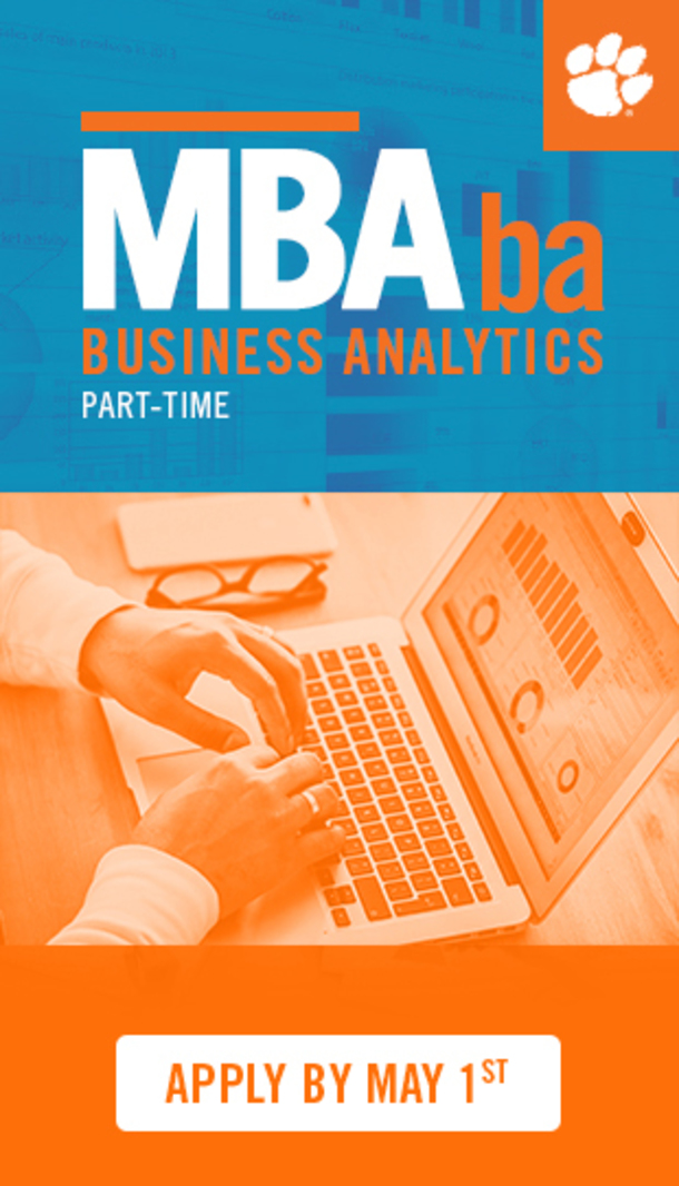 NBCba Business Analytics Part-Time Apply By May 1st