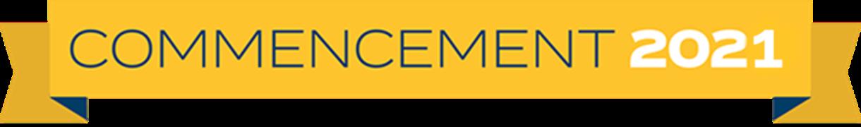 Commencement 2021 logo