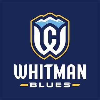 Whtiman Blues athletics logo