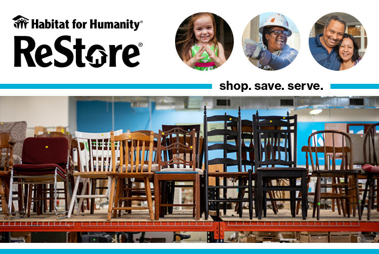 Sign up for the ReStore Rundown & Treasure Hunters today!