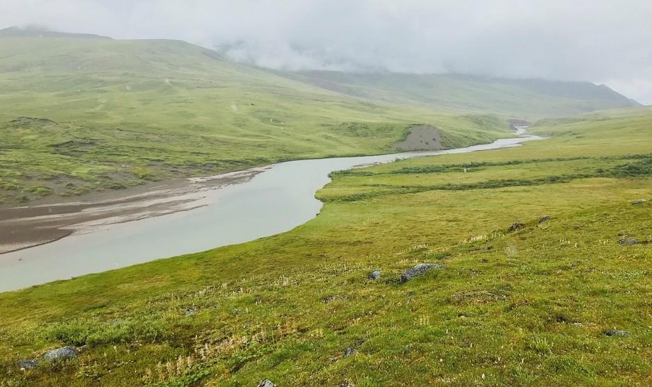 Atigun River off the Dalton Highway